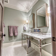 Transitional Bathroom by Toulmin Homes