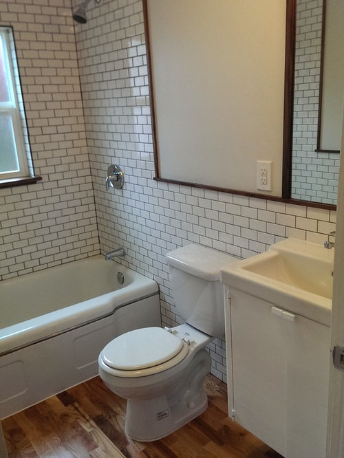 houzz portland bathroom with turquoise cabinets design ideas