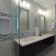 Contemporary Bathroom by Shawna Jaramillo