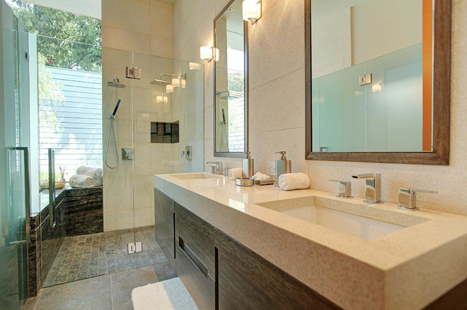 contemporary bathroom by Brooktree Equities, Inc