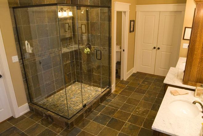 Craftsman Bathroom by Sebring Services