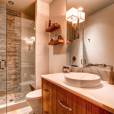 Contemporary Bathroom by Pinnacle Mountain Homes