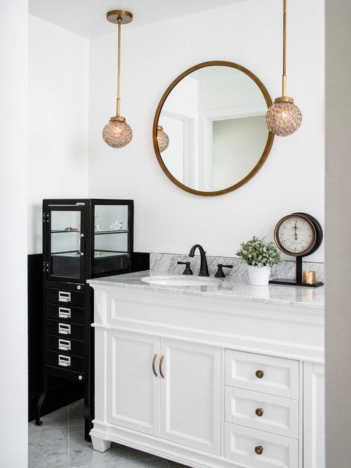 Modern Doorless Shower Design Ideas, Remodels & Photos