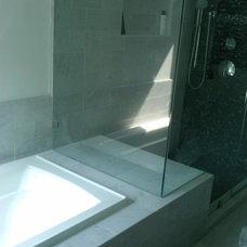 Modern Bathroom by Weierstall Design Build