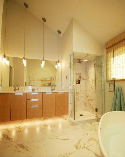 pendant lights and sloped ceiling. Black Bedroom Furniture Sets. Home Design Ideas