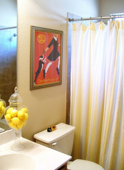 eclectic bathroom by Agnes Blum