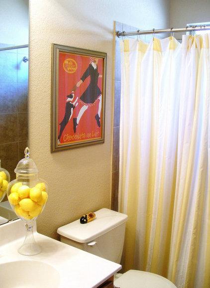 Eclectic Bathroom by Agnes Blum