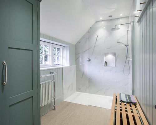 Landhausstil Badezimmer Mit Vinylboden Ideen, Design & Bilder | Houzz