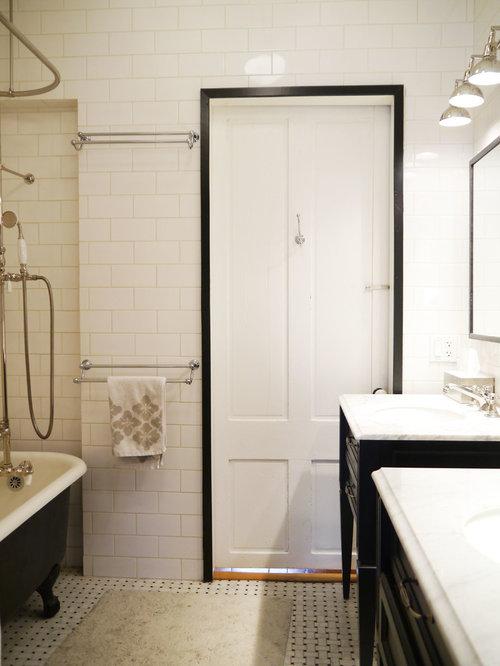 Medium sized traditional family bathroom design ideas for Medium bathroom ideas