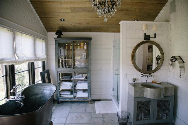 Spectacular Farmhouse Bathroom by Jordana Nicholson