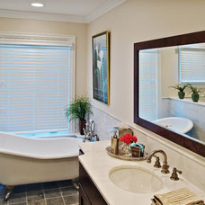 Traditional Bathroom by Dan Waibel Designer Builder