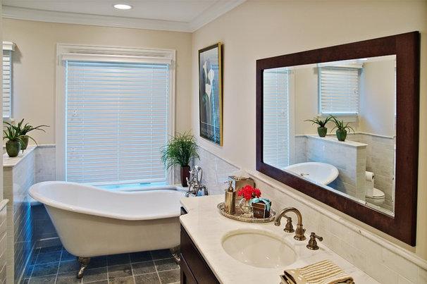 Traditional Bathroom by Dan Waibel Designer Builder