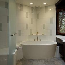 Contemporary Bathroom by Stuart D. Shayman Associates