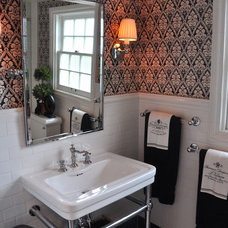 Contemporary Bathroom by Kathy Ann Abell Interiors
