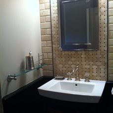 Contemporary Bathroom by James River Tile & Stone Art