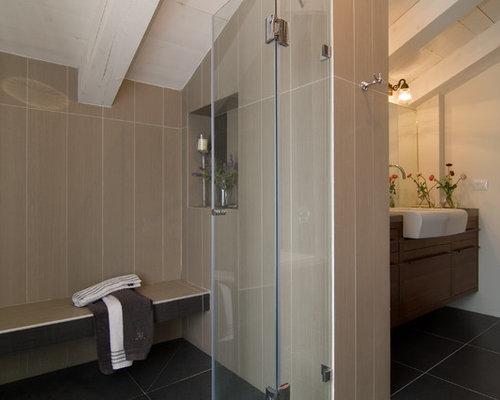 Vertical Tile Layout Houzz