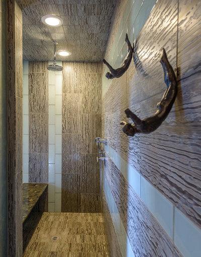 American Southwest Bathroom by John Magnoski Photography