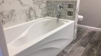 A feminine bathroom remodel