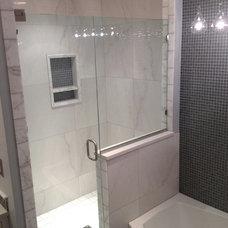 Traditional Bathroom by Edmond Kitchen & Bath LLC