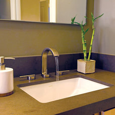Contemporary Bathroom by Christopher's Showroom