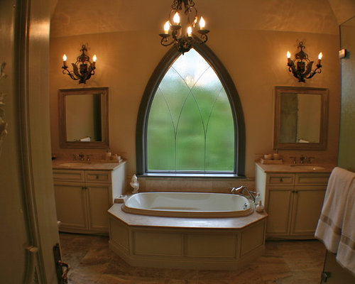 Gothic window houzz for Gothic bathroom ideas