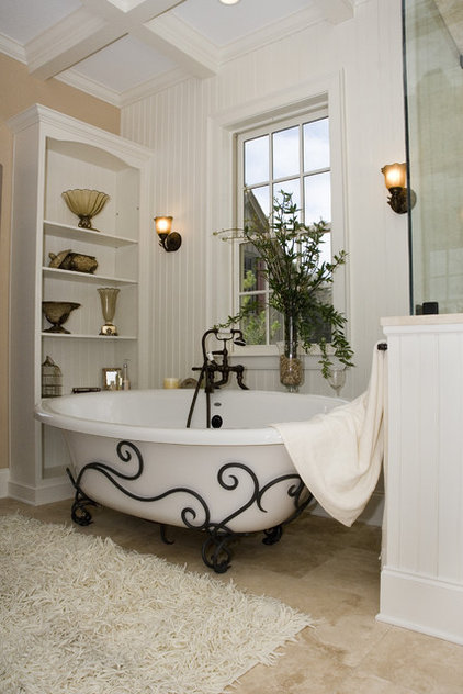 Mediterranean Bathroom by Creative Kitchens/Rob Stepp