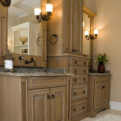 mediterranean bathroom by Rob Stepp