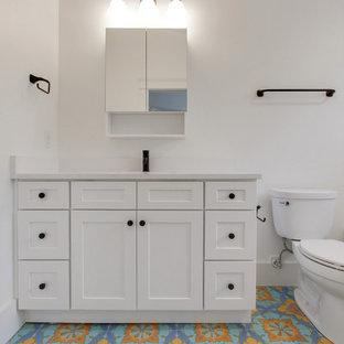 Minimalist bathroom photo in Atlanta