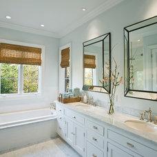 Traditional Bathroom by Robert Reid, RID  ASID  IDC  IDEC