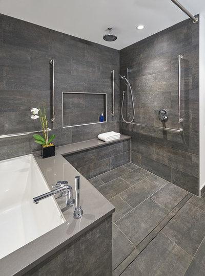 Modern Bathroom by CARNEMARK design + build