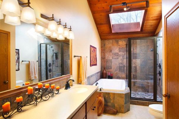 Traditional Bathroom by Wendy Mayes, ASID, CKD