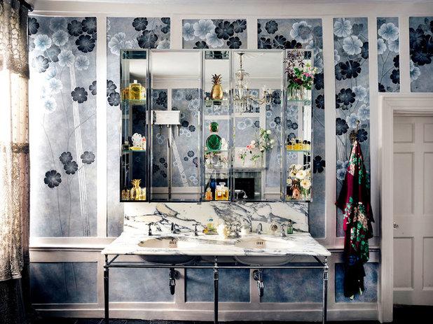 Shabby-Chic Style Stanza da Bagno by Drummonds Bathrooms
