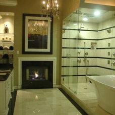 Mediterranean Bathroom by Hilsabeck Design Associates, Inc.
