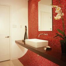 Contemporary Bathroom by Robert Reid, RID  ASID  IDC  IDEC