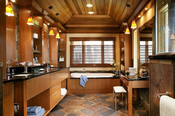 Modern Bathroom by Stone Surfaces, Inc.