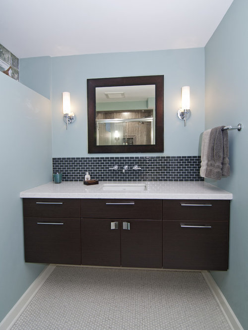 SaveEmail - Vanity Backsplash Houzz