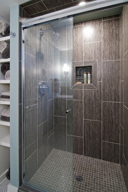 Modern Bathroom by White Crane Construction
