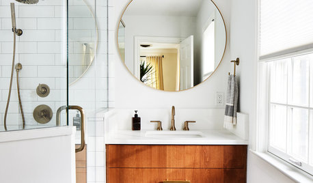 2 Compact Bathroom Makeovers, For Her And For Him