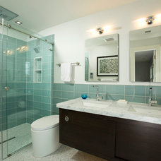 Contemporary Bathroom by Erin Hoopes