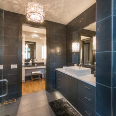 Contemporary Bathroom by Crossville Tile & Stone of Asheville