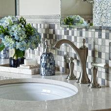 Traditional Bathroom by Insignia Kitchen and Bath Design Studio