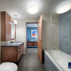 Contemporary Bathroom by Feinmann, Inc.