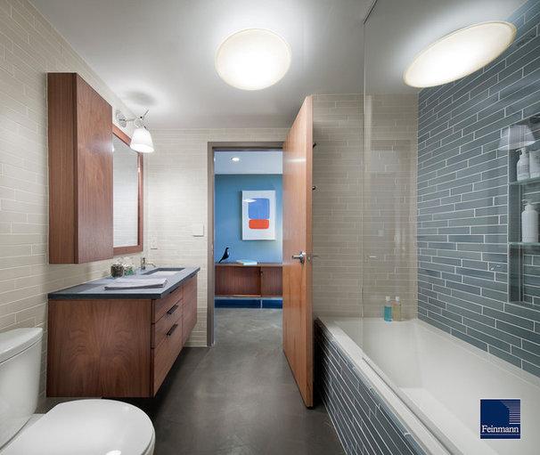 Contemporary Bathroom by Feinmann, Inc.