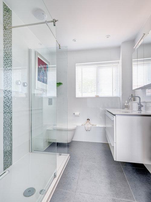 Ensuite Bathroom Fixtures luxury white ensuite | houzz