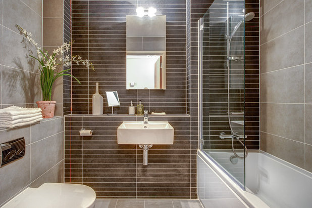 Lovely Contemporary Bathroom by Colin Cadle Photography