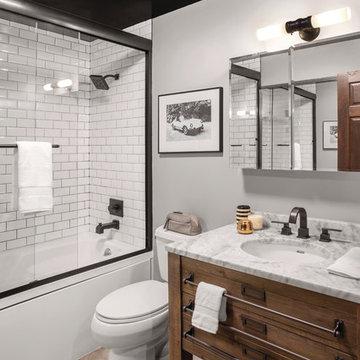 A Rustic Hoboken Apartment