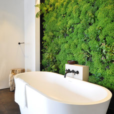 Contemporary Bathroom by Janet Paik