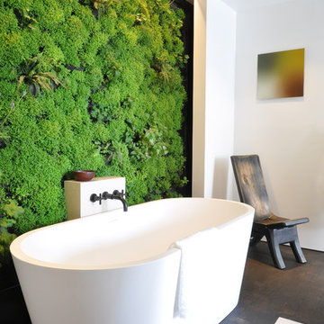 A Sacred Space to Bathe by siol and Habitat Horticulture