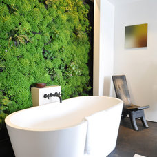Contemporary Bathroom A Sacred Space to Bathe by siol