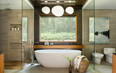 Room of the Day: Serene Sophistication in a Master Bathroom